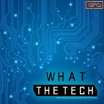 What The Tech W/ Andrew Zarian and Paul Thurrott Logo