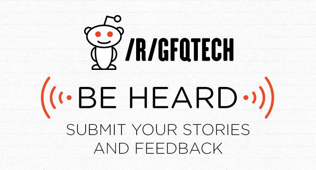 GFQ on Reddit